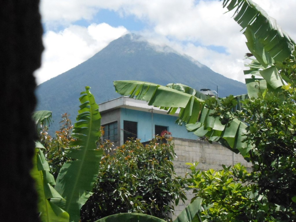 Poqomam Maya live in the shadow of Junajpu, also known as Volcán de Agua.