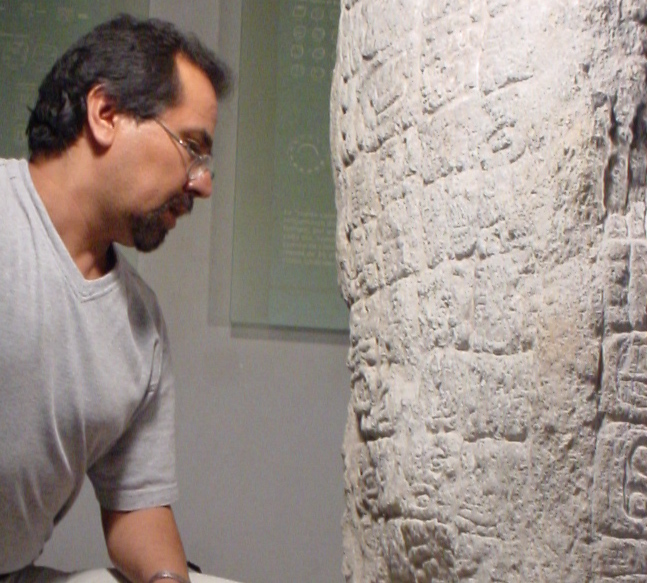 Dr. Guillermo Bernal, from Centro de Estudios Mayas at la UNAM, is an internationally recognized epigrapher with a specialty in the inscriptions of Palenque.