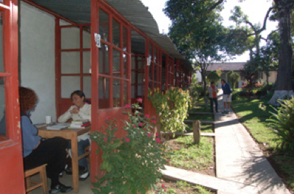 The PLFM grounds in Antigua, site of a highly recognized language school. Visit www.plfm.org.