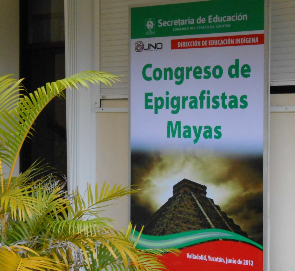 The 2012 congress was organized and run by MAM and taught by outside epigraphers. The 2014 congress was essentially taught by Mayas. The 2016 congress will not only be taught by Maya epigraphers, the entire event will be organized and run by our Maya colleagues in Guatemala.