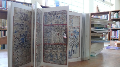 Photo of copy of Madrid Codex.